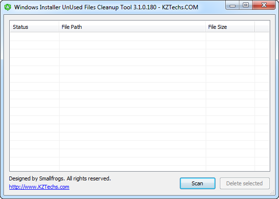 windows installer unused files cleanup tool